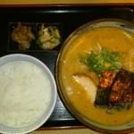 味噌と小ライス20121014