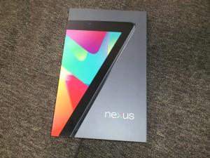 nexus7箱 前面