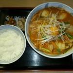 豚キムチ風ラーメン
