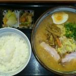 味噌+野菜タップリ+小ライス