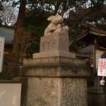 調神社の狛兎
