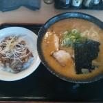 2014-11-17_桃福_みそら〜めん大盛り+豚丼