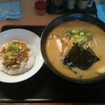 2015-01-06_桃福みそら〜めん大盛り+肉そぼろ飯