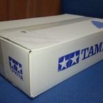 タミヤカスタマーから届いた箱
