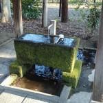 調神社 手洗い場