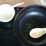 桃福_辛みそら〜めん_スープカレー付き_完食