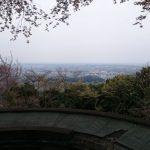 八王子城から見た景色