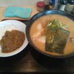 201.7-12-22_桃福みそら~めん大盛り+挽肉カレーjpg