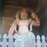 妻沼聖天山 力士像 吽形