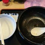 桃福_ねぎ味噌+小ライス 完食